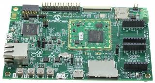 SAMA5D27 SOM1 Evaluation Kit 1