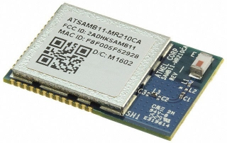 SmartConnect Module; Ultra-Low Power SiP - Bluetooth 4.1 BLE with Integrated ARM® Cortex®-M0; 128KB RAM; 256KB Flash; Chip Antenna; 22.88x15.36mm