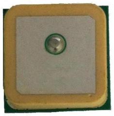GPS/GLONASS Ceramic patch Antenna, 25x25x4.6mm, 1575(GPS) - 1608(GLONASS)MHz, 50R