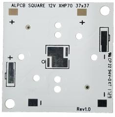 Квадратна подложка 37x37mm. за светодиоди CREE Серия XLamp XHP70 12V DC