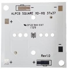 Квадратна подложка 37x37mm. за светодиоди CREE Серии XLamp XD16/XQ