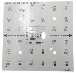 CEM-3 80x80mm за 28 CREE CREE XLamp XD16/XQ светодиодa
