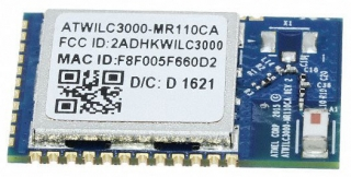 Low Power Wi-Fi 2.4GHz, 802.11 b/g/n + Bluetooth BLE4.0 Link Controller Module; Chip Antenna; SMD 36; 22.43x14.73mm