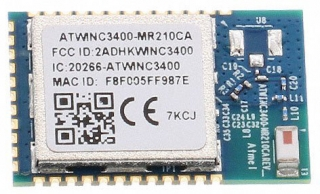 Low Power Wi-Fi 2.4GHz, 802.11 b/g/n + Bluetooth BLE4.0 Network Controller Module; Chip Antenna; SMD 36; 22.43x14.73mm