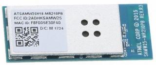 SmartConnect IoT ATWINC1500B-MU-T Low Power Wi-Fi Module 2.4GHz, 802.11b/g/n with MCU ATSAMD21; SMD 51; 33.86x14.88mm