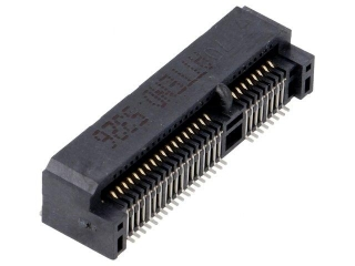 Mini PCI Express Socket; Top Mount; SMD; Stand off 7.0mm