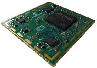System on Module; 32-bit Arm® Cortex®-A5, 1Gbit DDR2 SDRAM up to 500MHz, 10/100 Ethernet PHY, 64Mbit Flash, 1Kbit EEPROM, PMIC; 176 pin 40x38x6.34mm