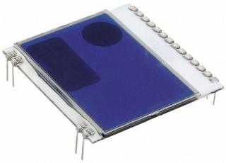 Graphic,102x64pix,39x38.1x2.1mm, STN Neg. transmissive, blue background, Vdd=2.5-3.3V, Backlight EA LED39x41-W(white)