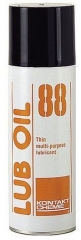 The high-grade spraying oil in an aerosol