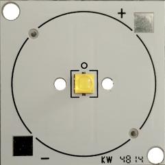 SQUARE AL PAD with CREE XTE series LED, 5000K, CRI70, max 700mA