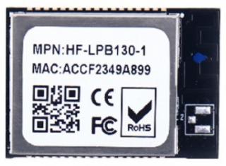 Wi-Fi Module 802.11b/g/n; Low Power; Cortex-M4 SOC 160MHz; 352KB RAM; 1MB Flash; UART/SPI/GPIO; SMD 34pin; 23.1x32.8x3.5mm; Internal Antenna