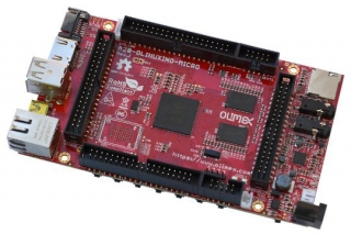 Open Source Hardware Embedded ARM Linux Single board computer with dual core, dual GPU ALLWINNER A20 CORTEX-A7