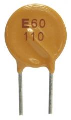 Възст. предпазител PTC, Ihold=1.1A, Vmax=72V, 0.15-0.25ohm, d=12.8мм, P5.0mm || OBSOLETE