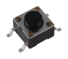 SMD Tact Switch, Top Actuated, Operating Force 260grams, 6x6x5mm, SPST-NO, 50mA@12VDC