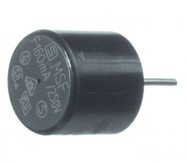 Subminiature Fuse; Quick-Acting; 0.5A 250VAC O8.5xH8.5; Radial Terminals 4.3mm