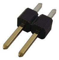 Съединител щифтов, 1Х2, високотемпературен диелектрик, височина на щифта 5.5мм, прав, TH, Р2.54мм
