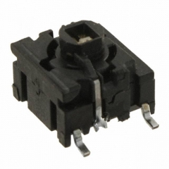 Pushbutton Switch;R LED Illuminated Actuator;10x10mm;SPST/OFF-ON;2.0N;50mA/24VDC