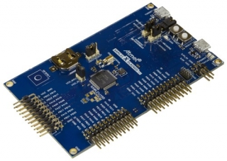 SAM L21 Xplained Pro evaluation kit for prototyping with the ultra low power SAM L21 ARM® Cortex®-M0+ based MCU