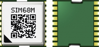 A-GPS receiver with built-in LNA, supports GPS/GLONASS/QZSS/SBAS..., SMD, 10.1x9.7x2.5mm, Vcc=2.8-4.3V