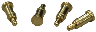 Pogo Pin 12V/2A; 1 Pin; Flat Type; T/L 5.0mm; W/H 3.6mm