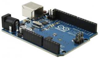 Evaluation Board based on ATmega328; 14 digital I/O (incl. 6 PWM); 6 analog inputs; USB; ICSP header; Power jack; Reset button