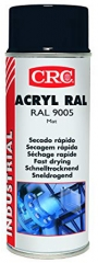 RAL 9005 Pure Black Acrylic Based Paint; High UV Resistance