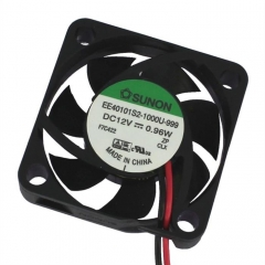 12VDC, 40x40x10mm, 1.08W, 11.89m3/h, 5800RPM
