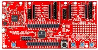 PIC32MM USB Curiosity Development Board