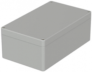 Box Euromas, 200x120x55mm, IP65, Light Grey, ABS, CR Seal