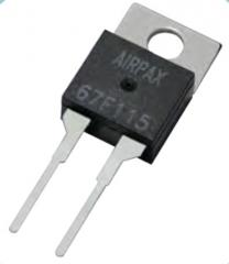 Bimetal Disc Thermostat, NC,  Tsw 167°F (75°C), Treset 122°F (50°C)