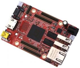 OPEN SOURCE HARDWARE EMBEDDED ARM LINUX SINGLE BOARD COMPUTER WITH ALLWINNER A20 DUAL CORE CORTEX-A7 1GB RAM 4GB EMMC MLC/SLC FLASH AND GIGABIT ETHERN