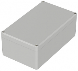 Box Euromas II, 200x120x77mm, IP65, Light Grey, ABS, CR Seal