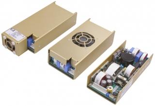 In:90-264VAC; Out1:+12DC/29A; -10°C to 70°C Eff. 86%; Open Frame; 172.7mm x 81.3mm x 38.1mm