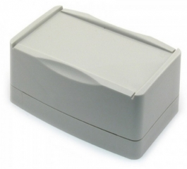 Кутия W91xL138.4xH67.7 мм, сива, поликарбонат, IP65