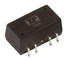 DC/DC Isolated 1.5kV; 1.0W; Uin:21.6V·26.4V; Uout1:12VDC; Uout2:-12VDC Iout:42mA; Eff. 81%;  -40°C to 105°C