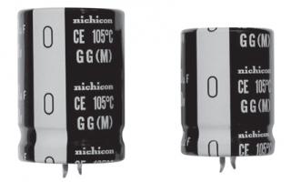 Кондензатор електролитен, свръхминиатюрен, snap-in, 1000uF, 200V, -40~105°C, 22x45мм, RM10