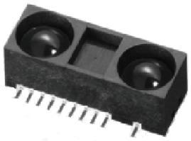 Distance Measuring Sensor Unit, Measuring distance : 10 to 150 cm, Analog output, Vcc=3.0 or 5.0V,