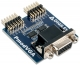 Provides a Standard VGA port to any board with Pmod connectivity; 12-bit RGB444 color depth; supports pixel clocks up to 150 MHZ