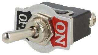SPST ON-OFF M12 10A/250V metal