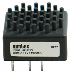 20W; Uin:13-70V; Uout:±15VDC; Iout:±0.666A
