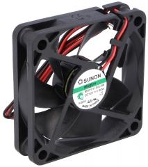 12VDC, 60x60x15mm, 1.56W, 35.68m3/h, 4300RPM
