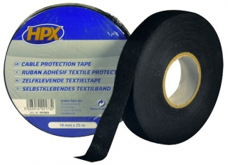 Cable protection tape 19мм х 25м Black