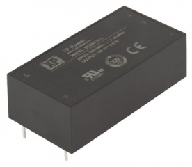 Ultra Compact AC/DC; 80W; Uin:85-264VAC; Uout:15VDC; Iout:5.33A(6.93A Peak); Eff. 88%; -40°C to 70°C(Full power to 50°C)