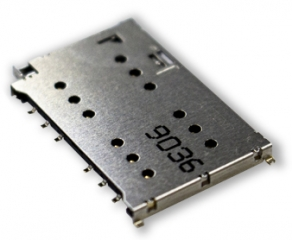 Nano SIM Socket Dual Card Tray; Eject type