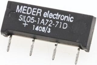 Reed Relay 5V 0.5/1A 10VA 200VDC 0.7/0.05ms