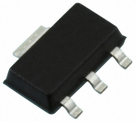 Unipolar Hall-effect sensor, High sensitivity, Vdd=3.8-24V, Vol=400mVmax/Iol=20mA, Bon=5.5mT/25C typ, Boff=3.5mT/25C typ