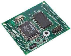 Core processor Rabbit 2000, 18.432MHz, Flash Size 256K, SRAM Size 128K, 4.75-5.25V, 58.4x48.3x14mm