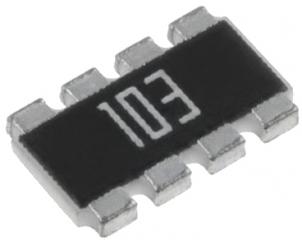 4 резистора с 8 извода, SMD 2012, 4x1206, 10K, 5%, 200ppm