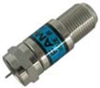 F Type Attenuator, 75 Ohm, 5.0MHz- 3.0GHz, Attenuator Value 20dB, Return Loss 22/1GHz, Accuracy ±0.5%