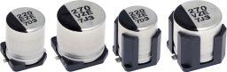 Electrolytic polymer capacitor, Wide temperature range -55~145°C, Low ESR, 10x10.2mm, 2000h./145°,4000h/135° AEC-Q200